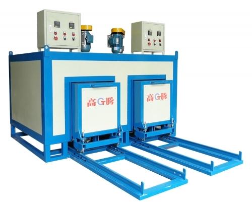 模具加热炉的炉内压力和烟空比的控制