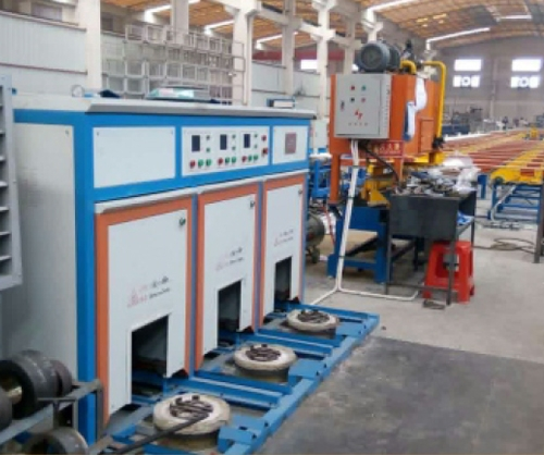 G series electromagnetic mould heating furnace