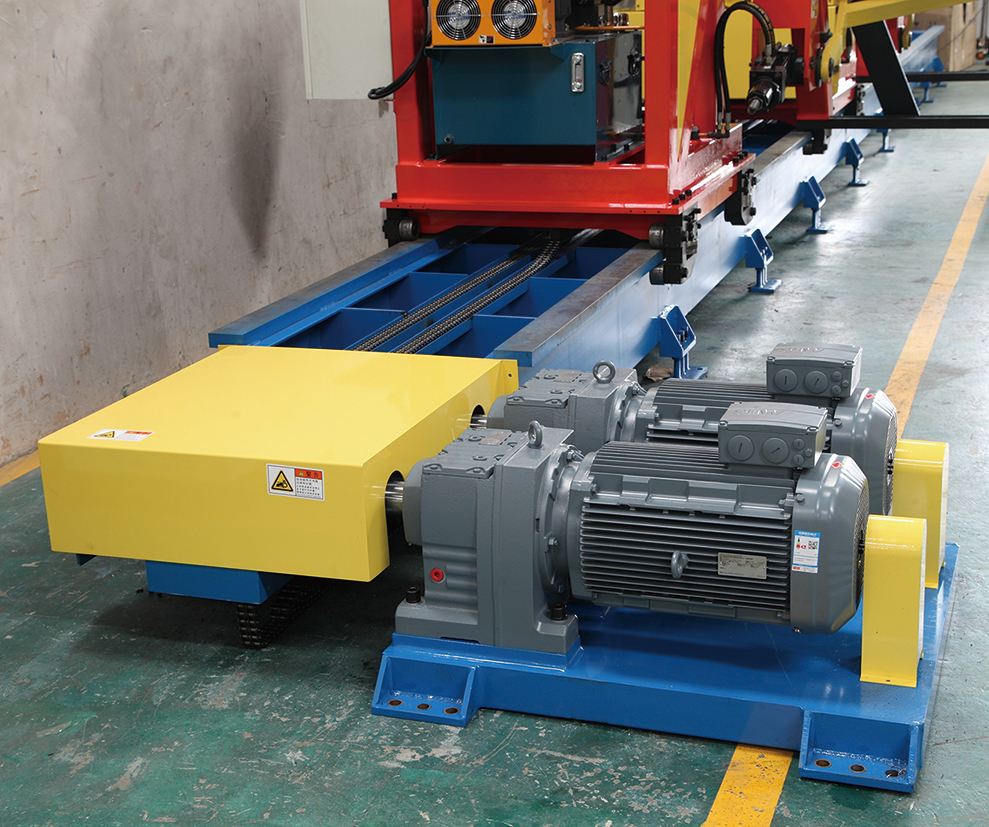 Automatic double tractor power block